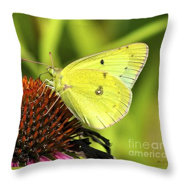 Summer Meadow  Throw Pillow