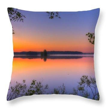 Summer Morning At 02.05 Throw Pillow