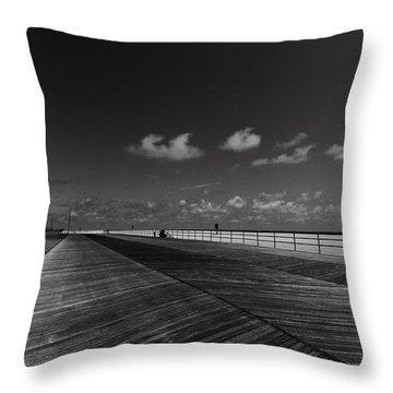 Summer Noir Throw Pillow
