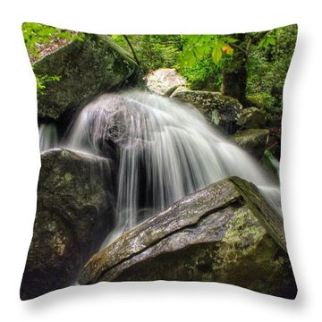Summer On The Rocks Throw Pillow