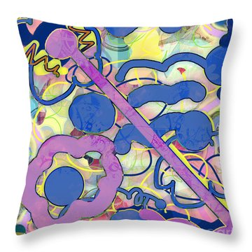 Summer On The Way Throw Pillow