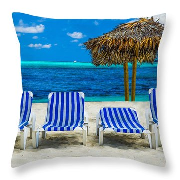 Throw Pillow featuring the photograph Summer by Paul Wear