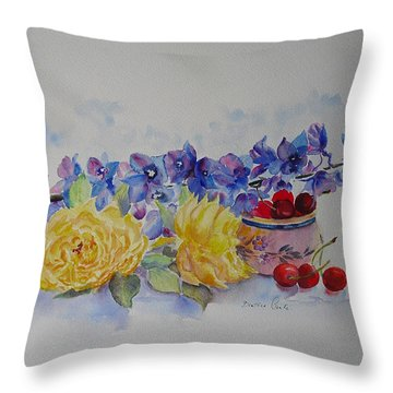 Summer Pick Throw Pillow