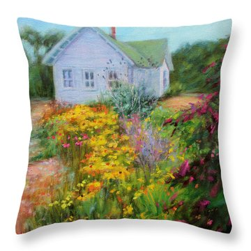 Summer Place- On The Outer Banks Throw Pillow