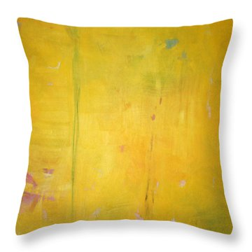 Throw Pillow featuring the painting Summer Rain C2011 by Paul Ashby