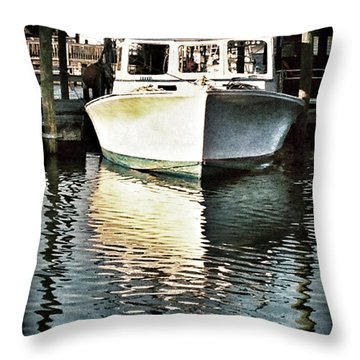 Summer Reflections Throw Pillow by John Pagliuca