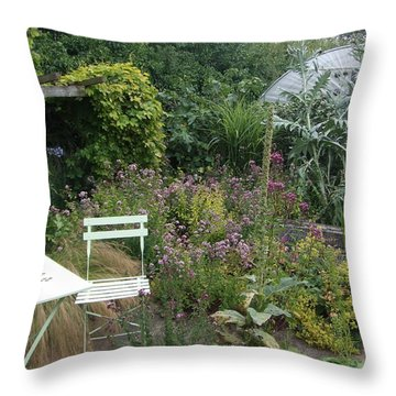 Throw Pillow featuring the photograph Summer Retreat by Richard Reeve