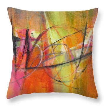 Summer Sangria Throw Pillow