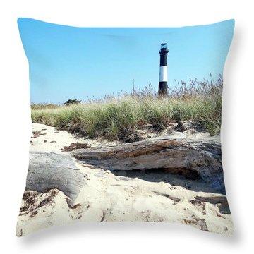 Throw Pillow featuring the photograph Summer Scene by Ed Weidman