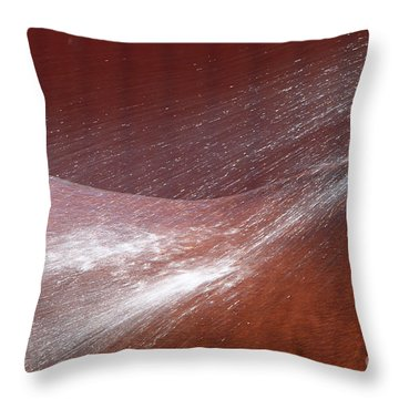 Cooling Off Throw Pillow by Michelle Twohig