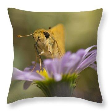 Summer Skipper Throw Pillow by Priya Ghose
