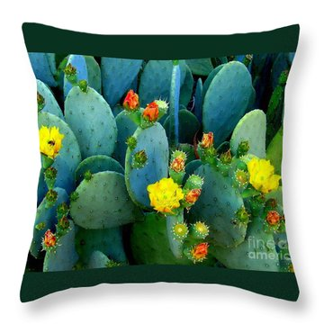 Throw Pillow featuring the photograph Summer Solstice  by Kathy Bassett