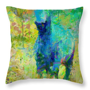 Summer Storm Throw Pillow by Greg Collins