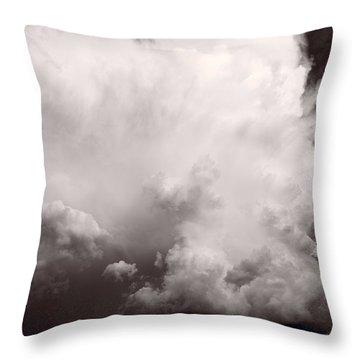 Summer Storm Throw Pillow by Steve Gadomski