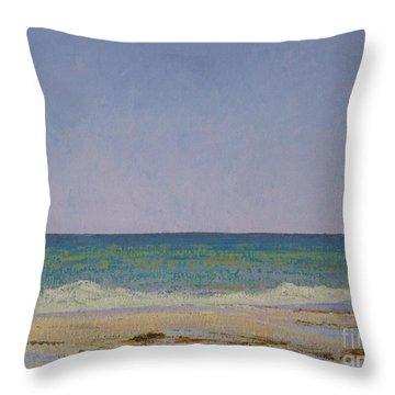 Summer Storm Tidepools Throw Pillow