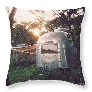 Summer Throw Pillow by Svetlana Novikova