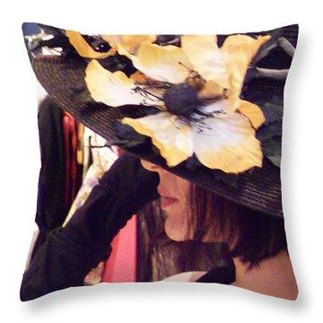Summer Tease Throw Pillow