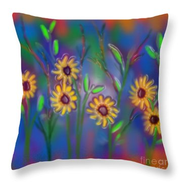 Summer Time Sadness Throw Pillow by Latha Gokuldas Panicker
