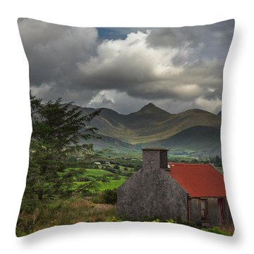 Summer Wind Throw Pillow by Tim Bryan