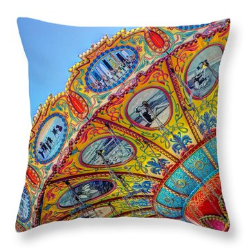 Summertime Classic Throw Pillow