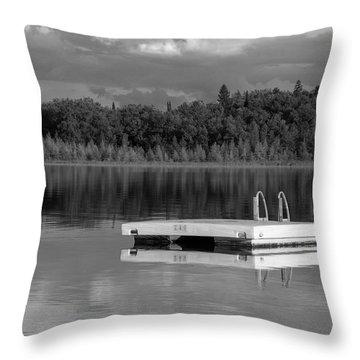 Summertime Reflections Throw Pillow