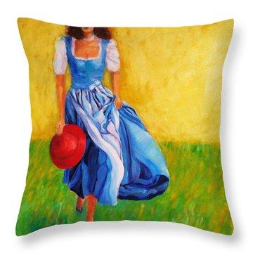 Summerwind Throw Pillow