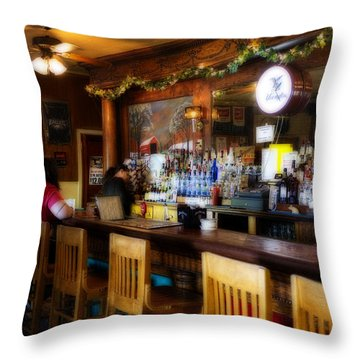 Sumneytown Bar Throw Pillow