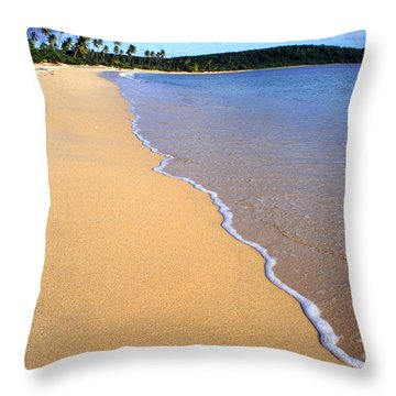 Sun Bay Throw Pillow by Thomas R Fletcher