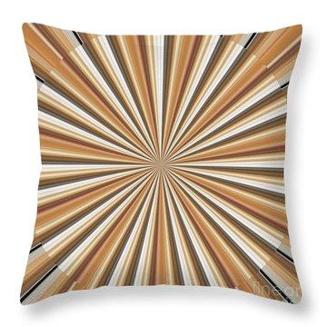 Sun Chakra Gold Round Circle Sparkle Motivational Decoration Yoga Meditation Tool Throw Pillow