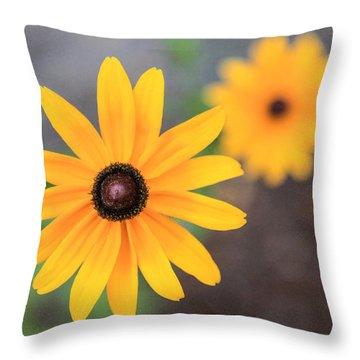 Sun Daisy Throw Pillow