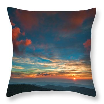 Sun Dance Throw Pillow