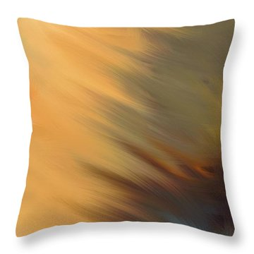 Sun Flare Throw Pillow
