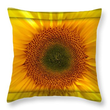 Sun Flower Dream Throw Pillow