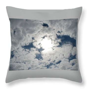 Sun Peek Throw Pillow