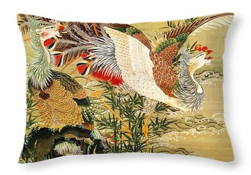 Sun Throw Pillow by Pg Reproductions