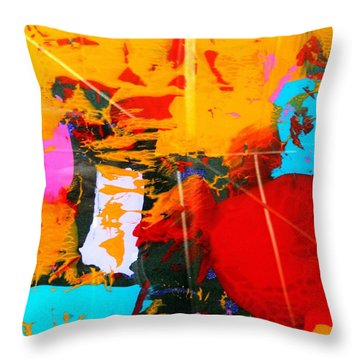 Sun Reflections Throw Pillow