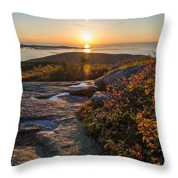 Sun Rise Shock Throw Pillow