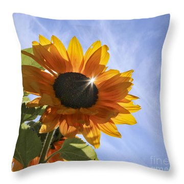 Sun Sparkle Throw Pillow