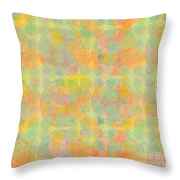 Sun Spots Throw Pillow