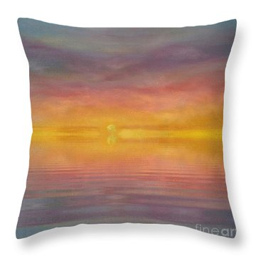 Sun Tapestry Throw Pillow