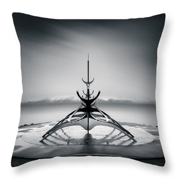 Sun Voyager Throw Pillow