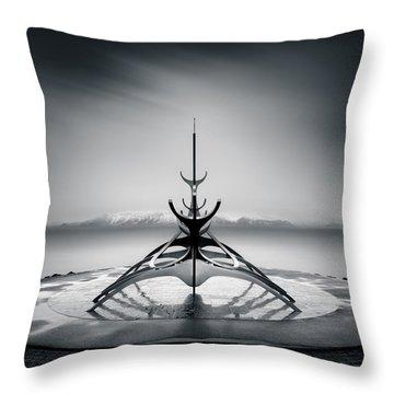 Sun Voyager Throw Pillow