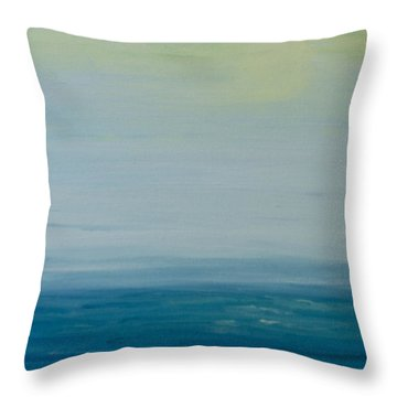 Sunbathed Throw Pillow by Jan Roelofs