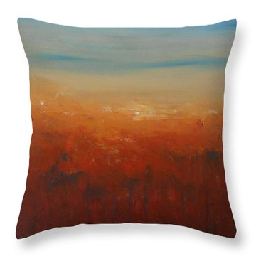 Sunburnt Country Throw Pillow