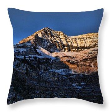 Sundance Aspen-first Light V5 Throw Pillow by Douglas Barnard