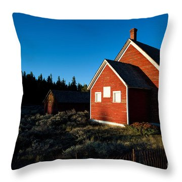 Sunday Morning Coming Down Throw Pillow by Jim Garrison