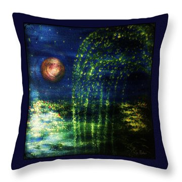 Sunday Symphony  Throw Pillow by Sherry Flaker