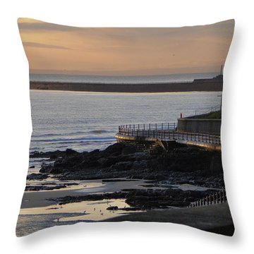 Sunderland Sunrise Throw Pillow