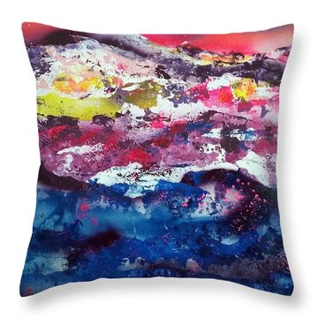 Sundown At Sundance Throw Pillow