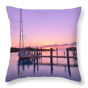 Sundown Serenity Throw Pillow